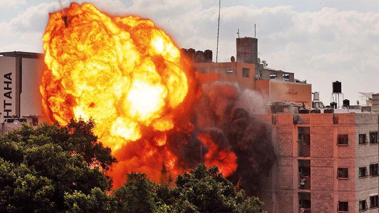 Havadan bombardıman sürüyor! İsrail, Gazze'ye kara harekâtı planlıyor