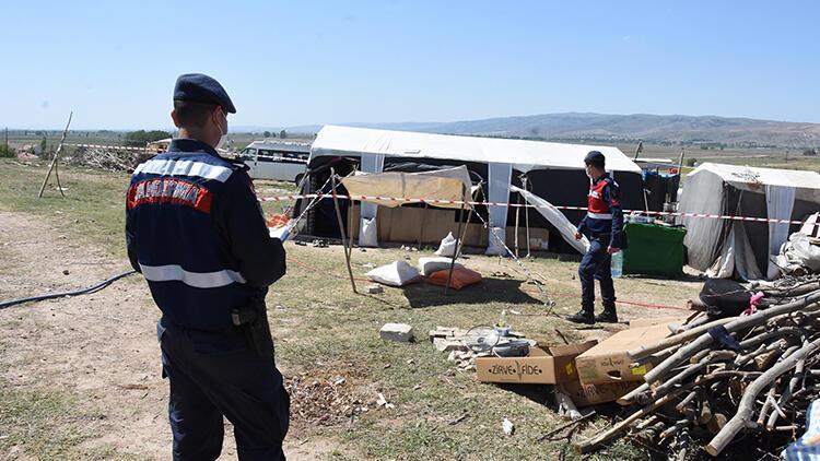 Eskişehir'de mevsimlik işçi çadırına 'koronavirüs' karantinası