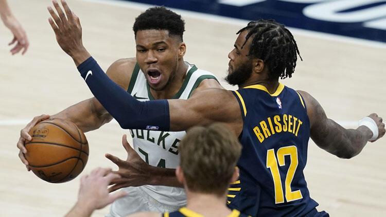 NBA'de gecenin sonuçları: Giannis'in 40 sayısı Milwaukee'ye galibiyeti getirdi