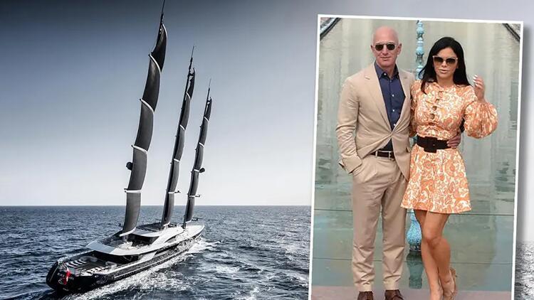 Jeff Bezos ve süper lüks yatların gizli dünyası