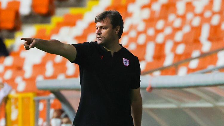 """Samsunspor Teknik Direktörü Ertuğrul Sağlam: """"Hayalimizi 26 Mayıs'ta sonlandırmak istiyoruz"""""""