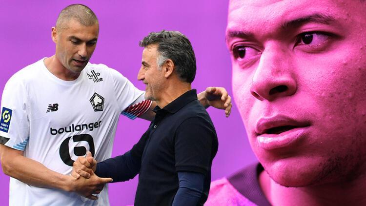 Lille Teknik Direktörü Christophe Galtier'den Kylian Mbappe'ye şampiyonluk yanıtı