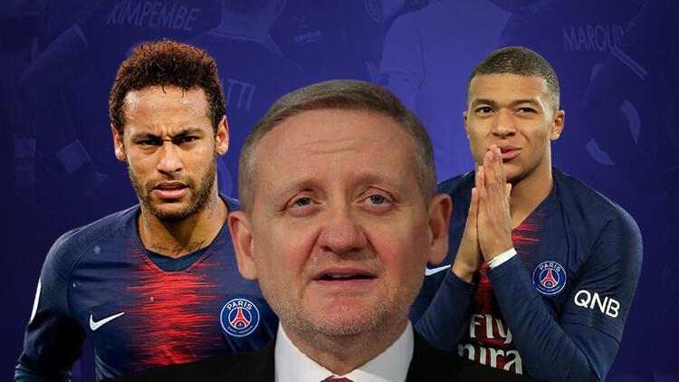 Başakşehir Kulübü Başkanı Göksel Gümüşdağ'dan Neymar ve Mbappe'ye teşekkür