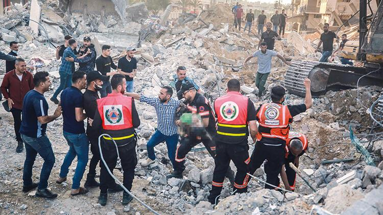 BM Sözcüsü: 200'den fazla konut tahrip oldu