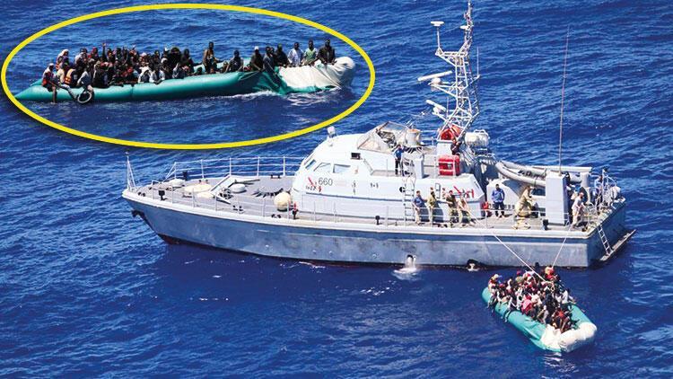 97 hayat botta sönerken Deniz Kuvvetleri kurtardı