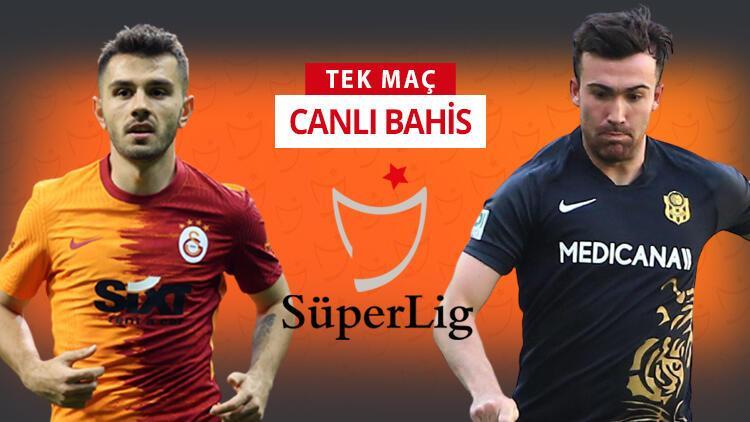 Kritik maç öncesi Galatasaray'da çok önemli 2 eksik! Yeni Malatyaspor'a karşı galibiyetlerine iddaa'da...
