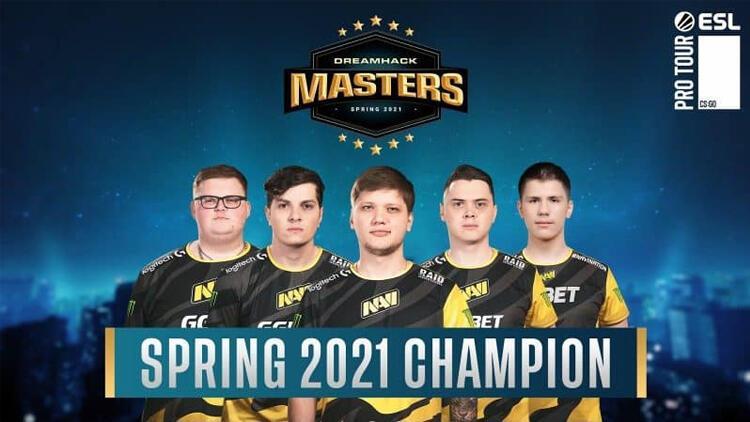 Na'Vi DreamHack Masters Spring 2021 Finalini başarılı bir şekilde tamamladı