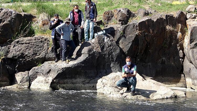 İnci kefallerinin göç ettiği Deliçay'da su seviyesi artırıldı