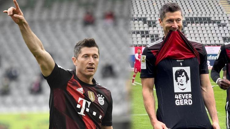 Robert Lewandowski, Gerd Müller'in 49 yıllık rekoruna ortak oldu!