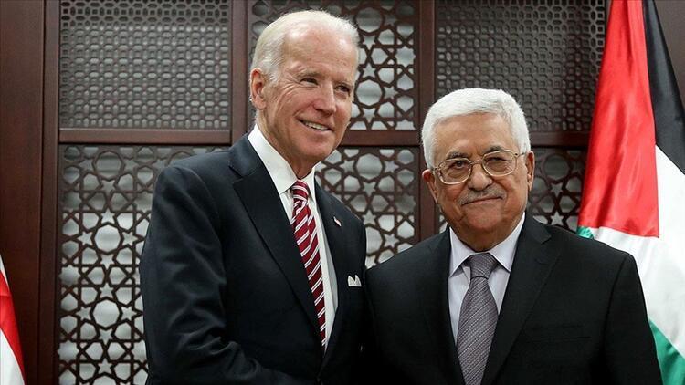 Filistin Devlet Başkanı Mahmud Abbas ABD Başkanı Joe Biden arasında ilk görüşme!