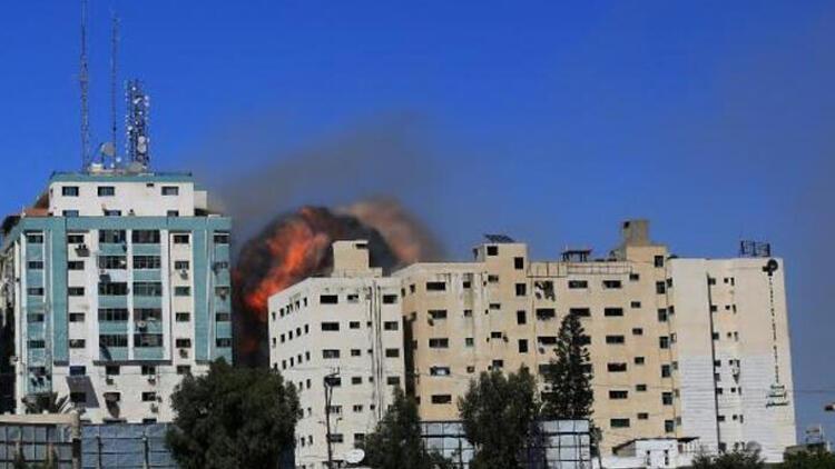 İsrail'in basının bulunduğu binayı bombalaması, ABD'de yankı uyandırdı