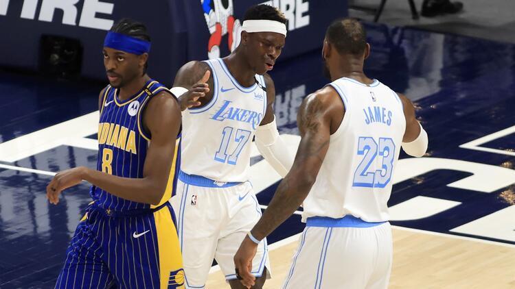 NBA'de Gecenin Sonuçları: Lakers, Pacers'ı devirdi! Play-off umudu sürüyor...