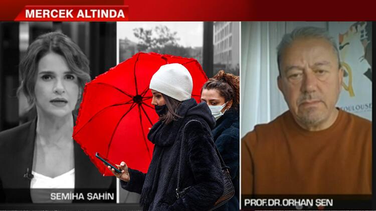 Prof. Dr. Orhan Şen'den canlı yayında dolu yağışı uyarısı