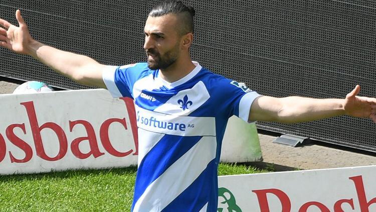 Darmstadt'ın Heidenheim'ı 5-1 yendiği maçta Serdar Dursun şov yaptı!