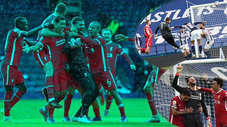 Kaleci Alisson Becker Liverpool'a hayat verdi! Fantastik gol sonrası gözyaşları ve duygusal sözler...