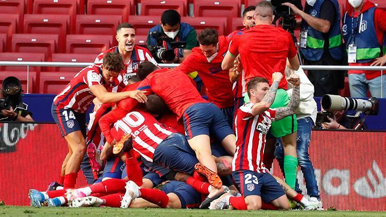 La Liga'da müthiş şampiyonluk yarışı! Atletico Madrid ve Real Madrid kazanınca...