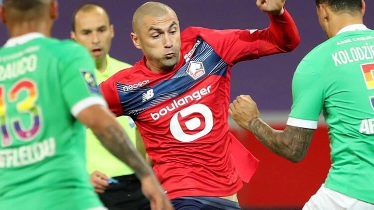 Lille 0 - 0 Saint Etienne (Maç özeti)