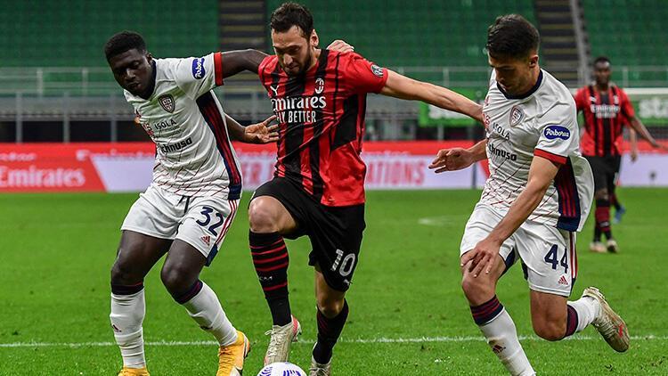 Milan 0 - 0 Cagliari (Maç özeti)