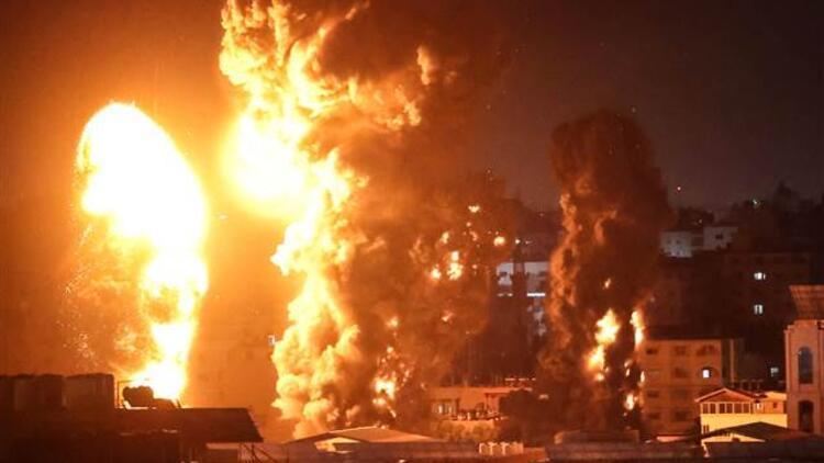İsrail katliama devam ediyor! Çok sayıda nokta bombalandı