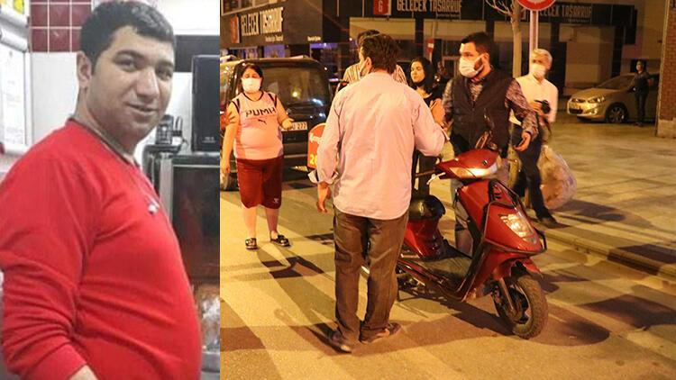 Motosikletli kurye Bayram Kurt kazada hayatını kaybetti