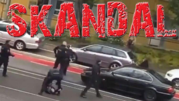 Alman polisi Türk vatandaşını darp etti! Böbrekleri zedelenmiş!