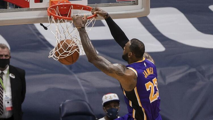 NBA'de Gecenin Sonuçları: Son şampiyon Lakers, play-in turuna kaldı! Rakip Warriors...