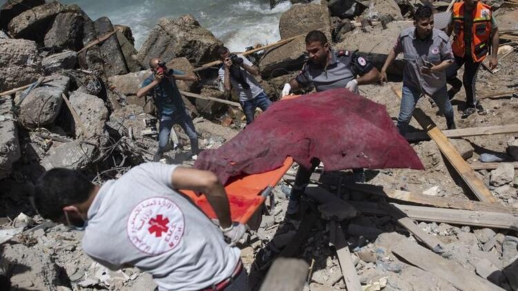 İsrail saldırılarında hayatını kaybedenlerin sayısı artıyor