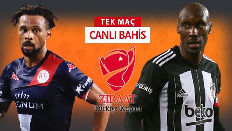 """Beşiktaş'ta Antalyaspor maçı öncesi 2 önemli """"yeni"""" eksik! Türkiye Kupası finalinde öne çıkan iddaa tercihi..."""