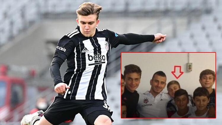 Fotoğraftaki o çocuk Beşiktaş'ı şampiyon yaptı
