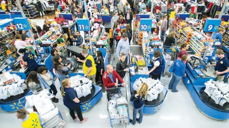 ABD'li perakende devlerinin satışları ilk çeyrekte arttı