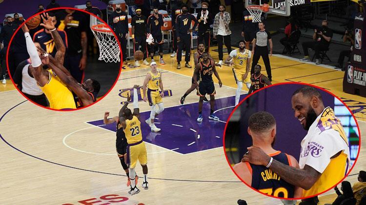 LeBron James, maç kazandıran üçlüğü bulanık görürken atmış! 'Üç tane çember görüyordum'
