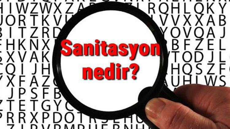 Sanitasyon nedir? Sanitasyon ile dezenfekte farkı