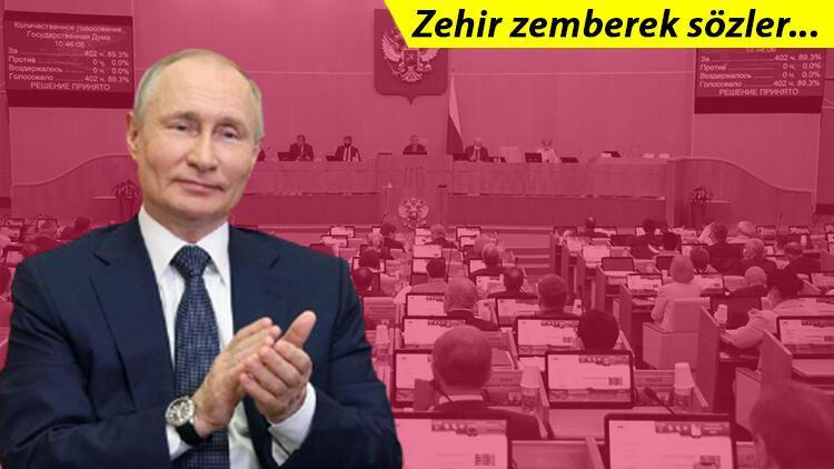 Putin'den dünyaya gözdağı! 'Bize bulaşanın dişlerini dökeriz'