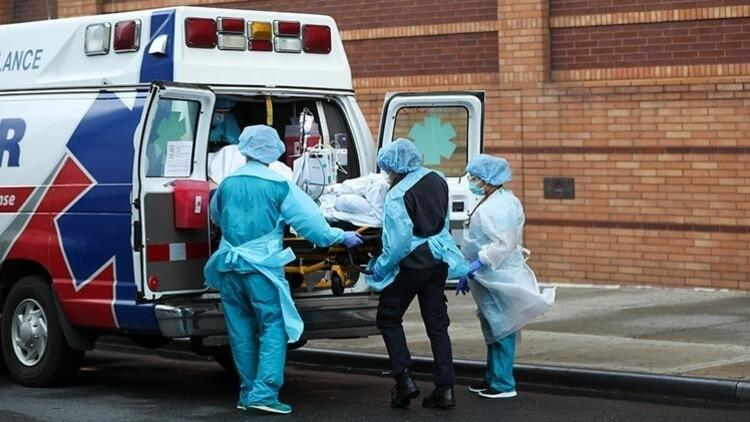 ABDde Kovid-19 salgınında ölenlerin sayısı 588 bin 548e yükseldi