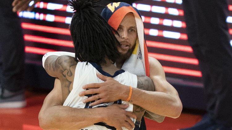 NBA'de gecenin sonuçları: Curry'li Warriors elendi, Grizzlies play-off'ta!