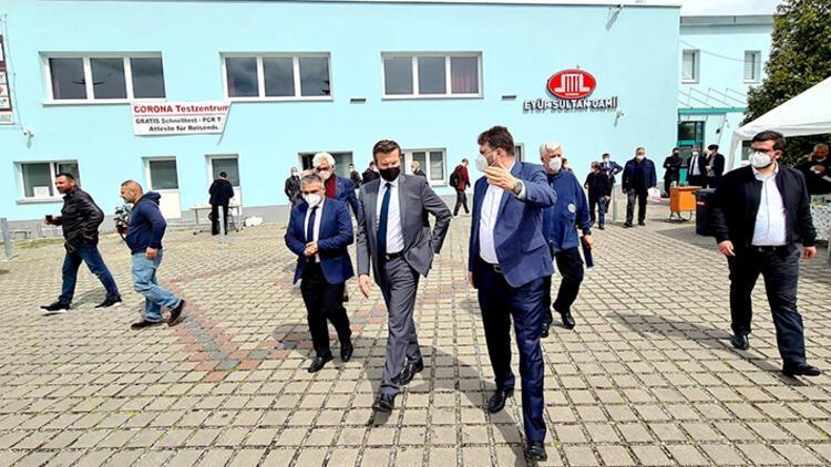 Kuzey Bavyera Nürnberg DİTİB Eyüp Sultan Camisi'nde aşı kampanyası