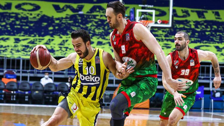 Fenerbahçe Beko: 71 - Pınar Karşıyaka: 80