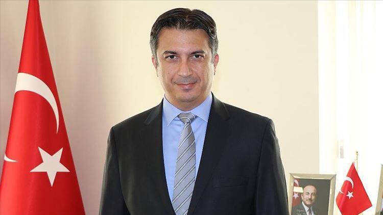 Türkiyenin Kiev Büyükelçisi Güldere, Ukraynada Yılın Büyükelçisi ödülünü aldı