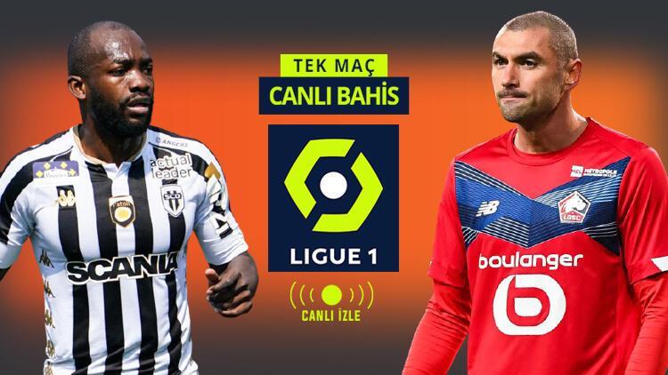 Şampiyon olmak için Lille ve PSG'ye ne lazım? Angers maçında galibiyetlerine verilen iddaa oranı...