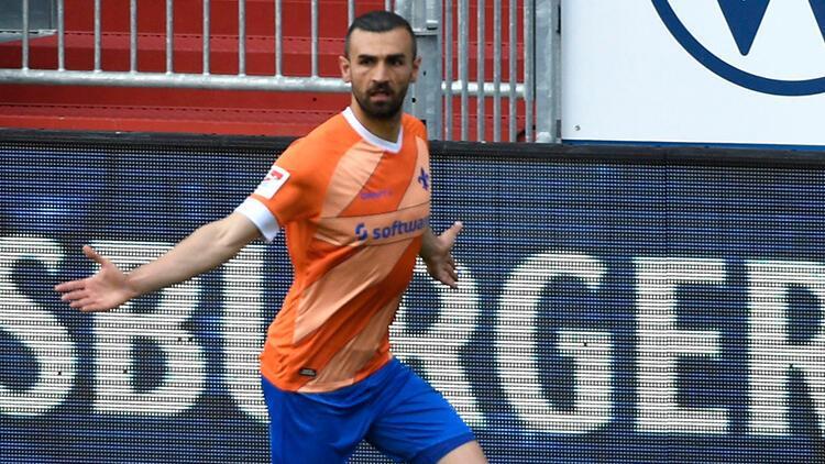 Serdar Dursun, Almanyada Darmstadt formasıyla gol kralı oldu