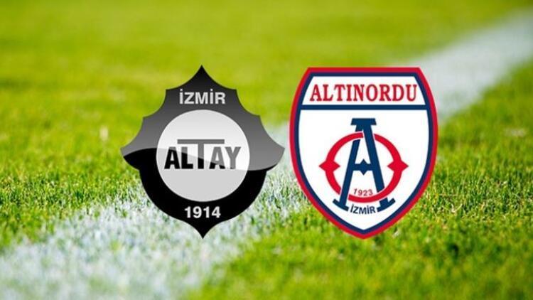 Altınordu Altay play-off finali ne zaman, saat kaçta oynanacak?