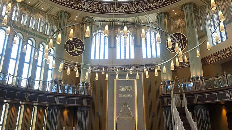 Taksim'deki cami cuma günü ibadete açılıyor... Cumhurbaşkanı Erdoğan da katılacak