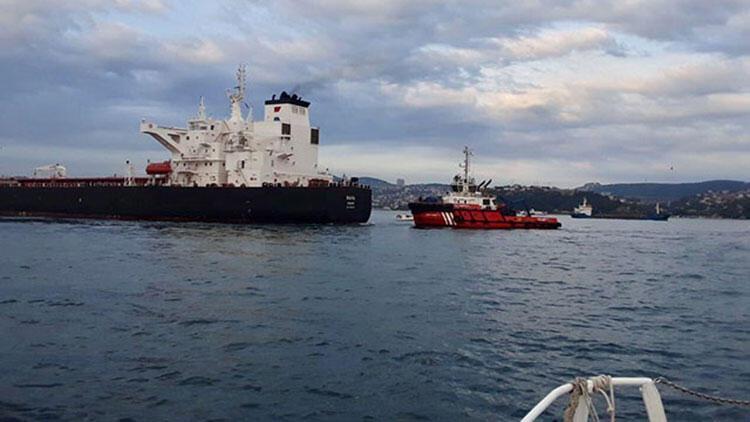 İstanbul Boğazı'nda panik anları! Petrol tankeri sürüklendi, trafik askıya alındı