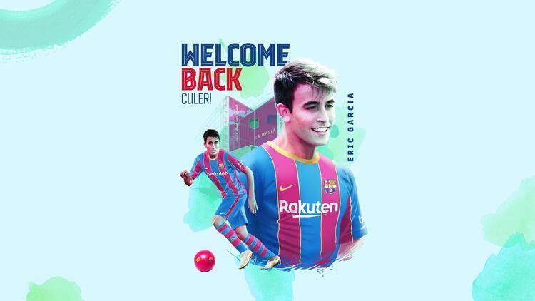 Son Dakika: Barcelona, Eric Garcia'yı transfer etti! Serbest kalma bedeli 400 milyon euro...