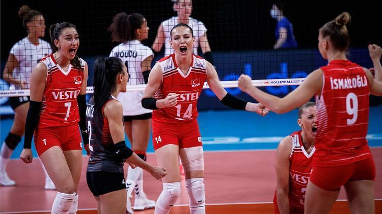 FIVB Milletler Ligi: Türkiye 3-0 Almanya