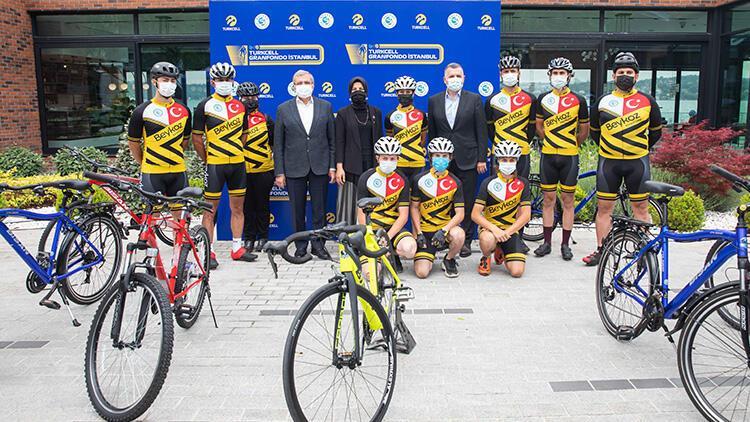 Turkcell GranFondo İstanbul'da pedallar eğitim için dönecek