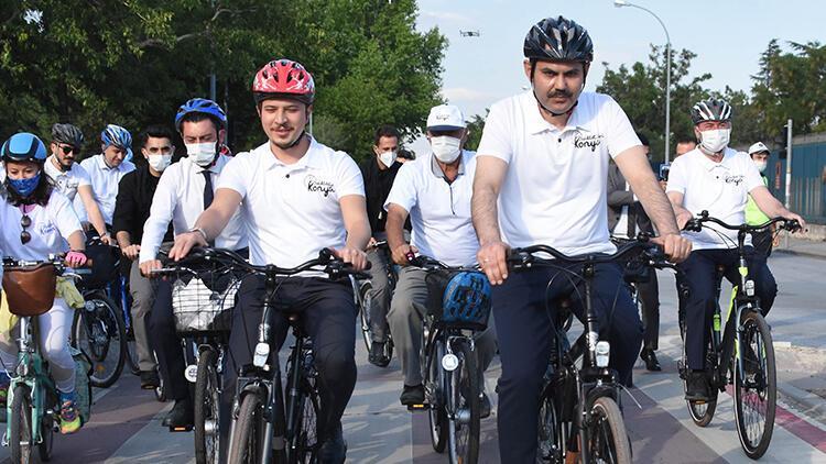Bakan Kurum: Hedefimiz, Edirne'den Hakkari'ye bisiklet yolu