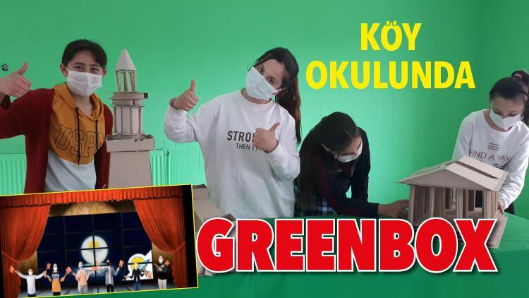 Köy okulunda 'greenbox'