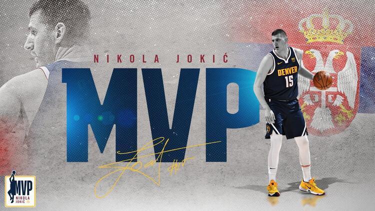 NBA'de 2020-2021 sezonunun MVP'si Nikola Jokic