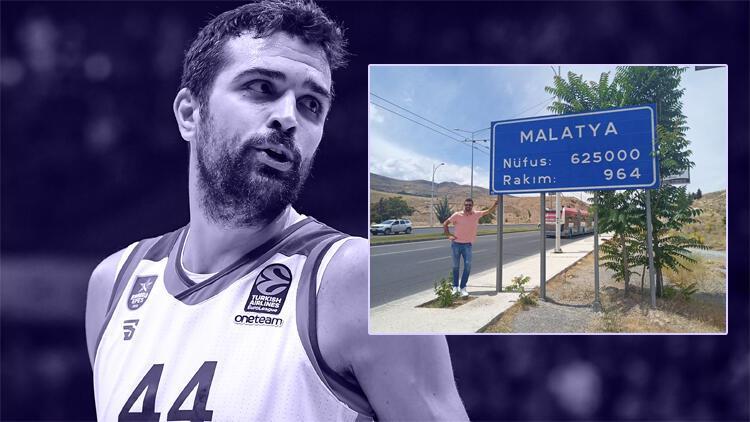 Anadolu Efes oyuncusu Krunoslav Simon Malatya'da!